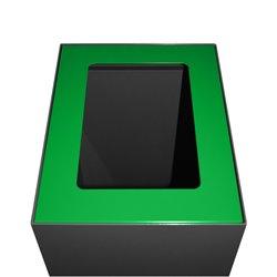 Top modulaire afvalscheidingsunit 60 ltr - groen