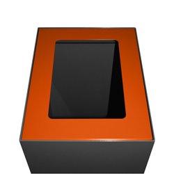 Top modulaire afvalscheidingsunit 60 ltr - oranje