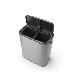 Brabantia Bo Touch Bin 2x30 ltr - mat RVS FPP