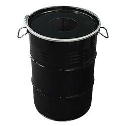 The BinBin afvalbak met inwerpopening 60 ltr - zwart