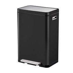 EKO X-Cube pedaalemmer 45 ltr - zwart/mat RVS