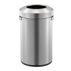 EKO afvalbak Urban Bin 50 ltr - mat RVS