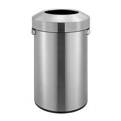 EKO afvalbak Urban Bin 60 ltr -  mat RVS