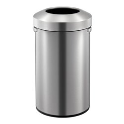EKO afvalbak Urban Bin 90 ltr - mat RVS