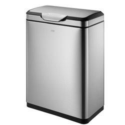 EKO afvalbak Touch Pro Bin 45 ltr - mat RVS