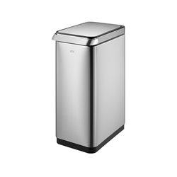 EKO afvalbak  Touch Bar 30 ltr - mat RVS