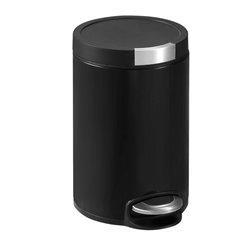 EKO Artistic pedaalemmer 12 ltr - mat zwart