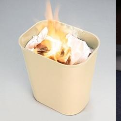 Vuurbestendige papierbakken